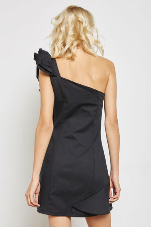 AM to PM One-Shoulder Dress
