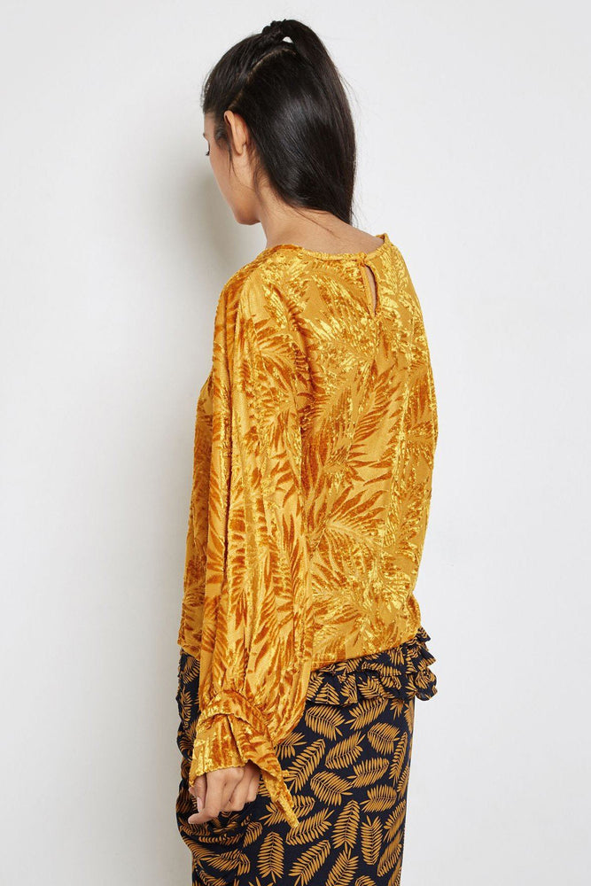 CLOTHING - Yucca Velvet Top
