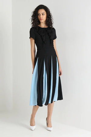 Load image into Gallery viewer, Propeller Midi Dress