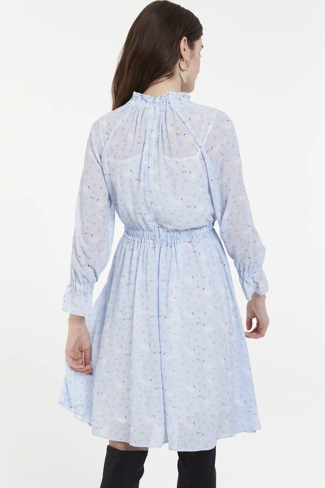 CLOTHING - Blueswan Print Chiffon Midi Dress