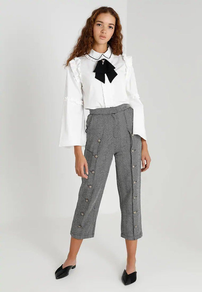 Zephyr Herringbone Trousers