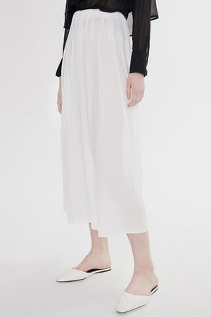 Baggy Trousers in White