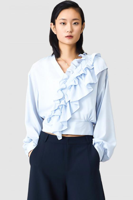 Fairy Tail Ruffle Top