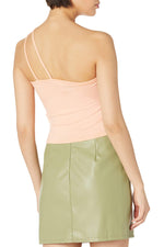 Crop Top With Asymmetric Straps