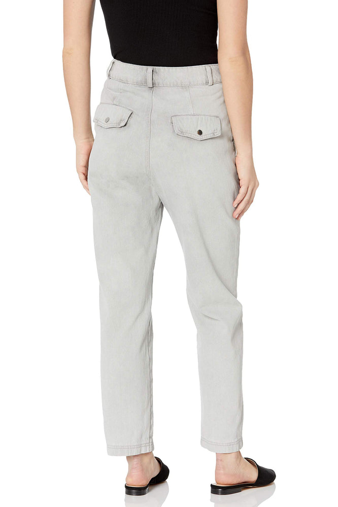 Straight Leg Denim Trouser