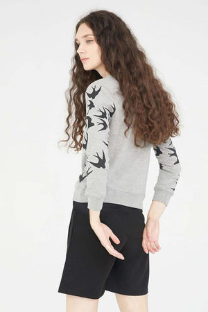 Swallow Printed Top