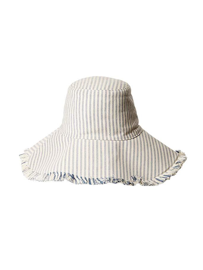 Fringed Canvas Sunhat