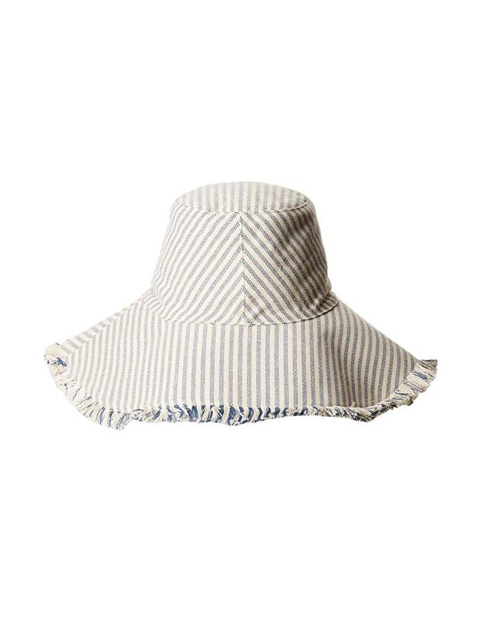 ACCESSORIES - Fringed Canvas Sunhat