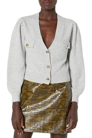 Load image into Gallery viewer, V Neck Cardigan With Pocket