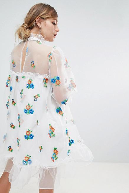 Load image into Gallery viewer, Atacama Organza Dress