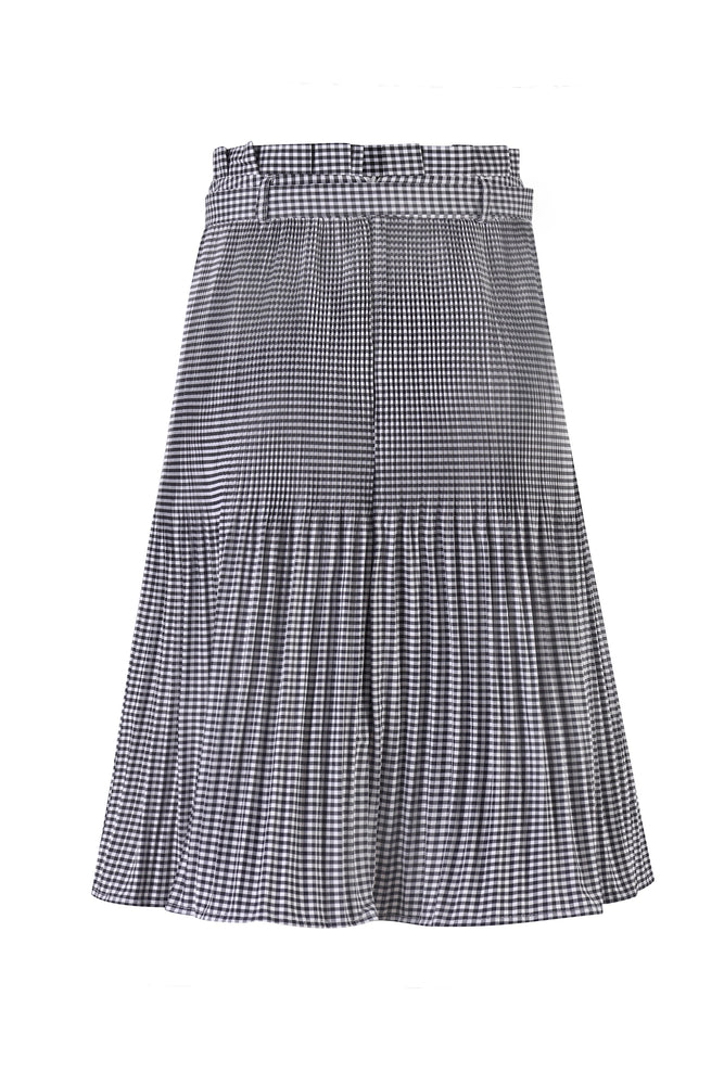 Load image into Gallery viewer, Camellia Pleat Skirt