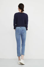 Inside Out Panelled Skinny Jeans