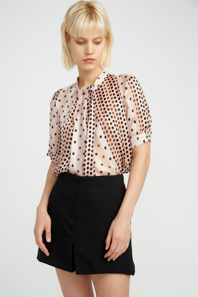 Load image into Gallery viewer, Midi Sleeve Blouse