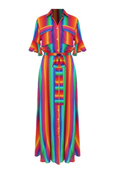 CLOTHING - Leilani Dress Rainbow