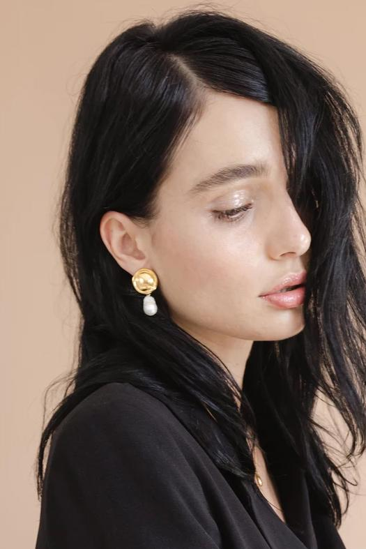 ACCESSORIES - Eva Earrings - Gold