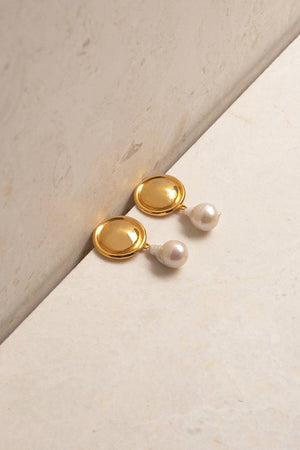 Load image into Gallery viewer, Eva Earrings - Gold