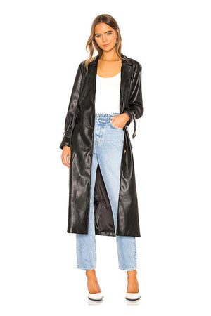 Leather Duster Jacket