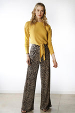 High-Waisted Flare Pant