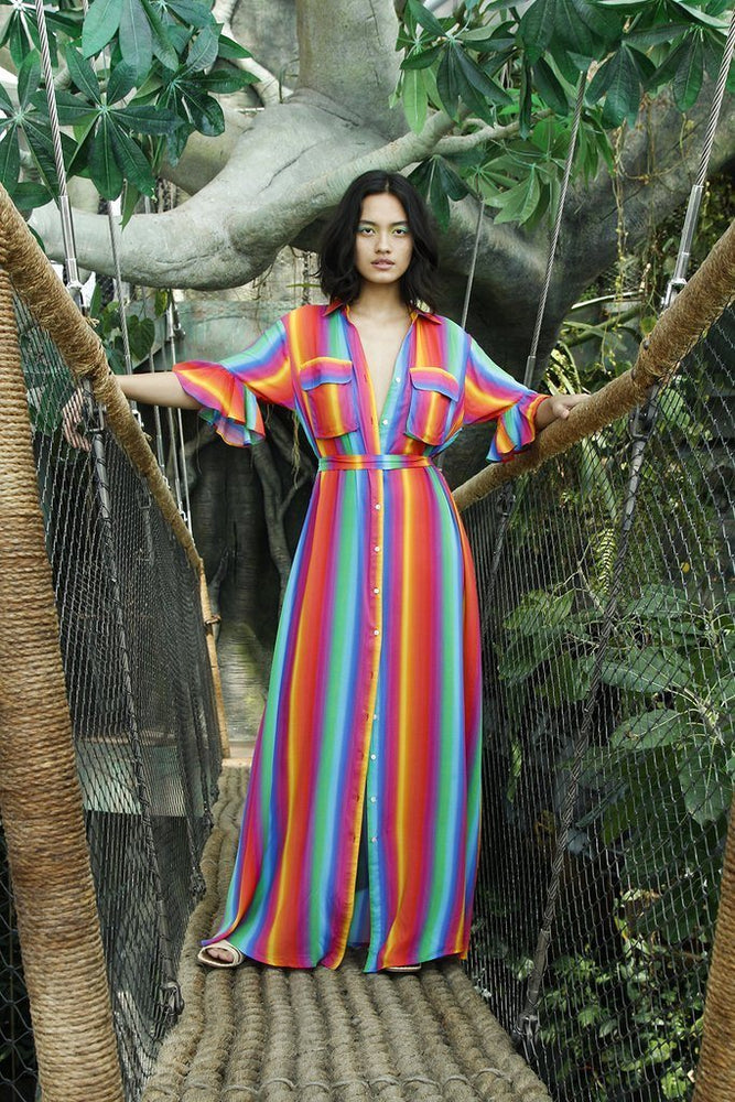 Leilani Dress Rainbow