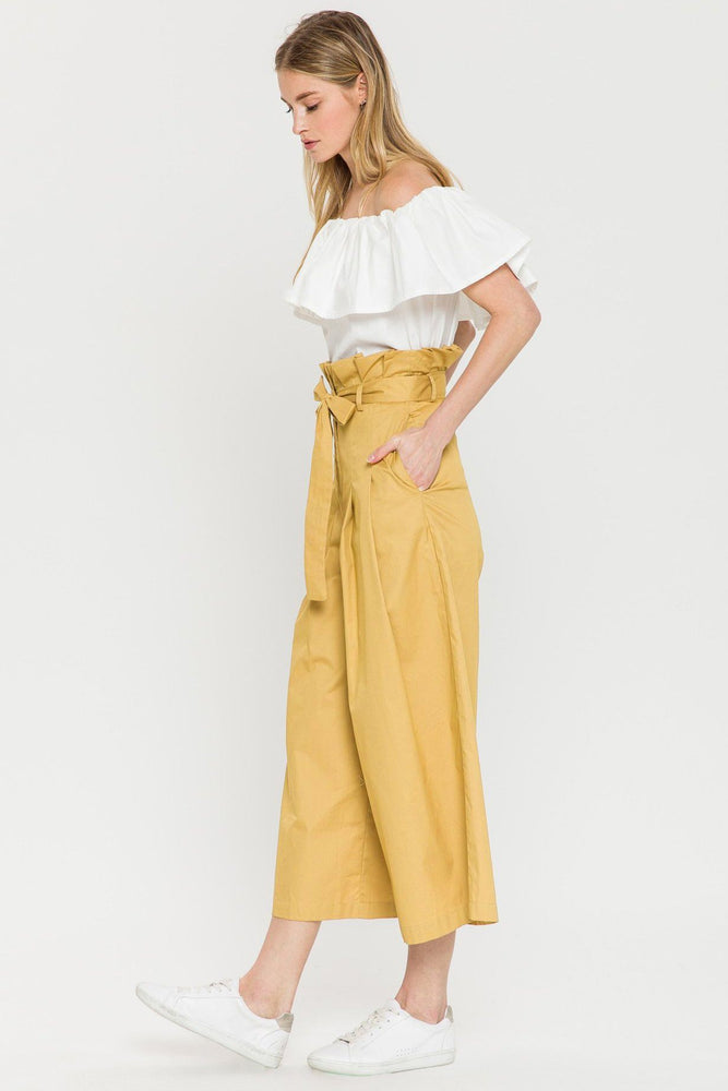 CLOTHING - Pleated Paper Bag Pants