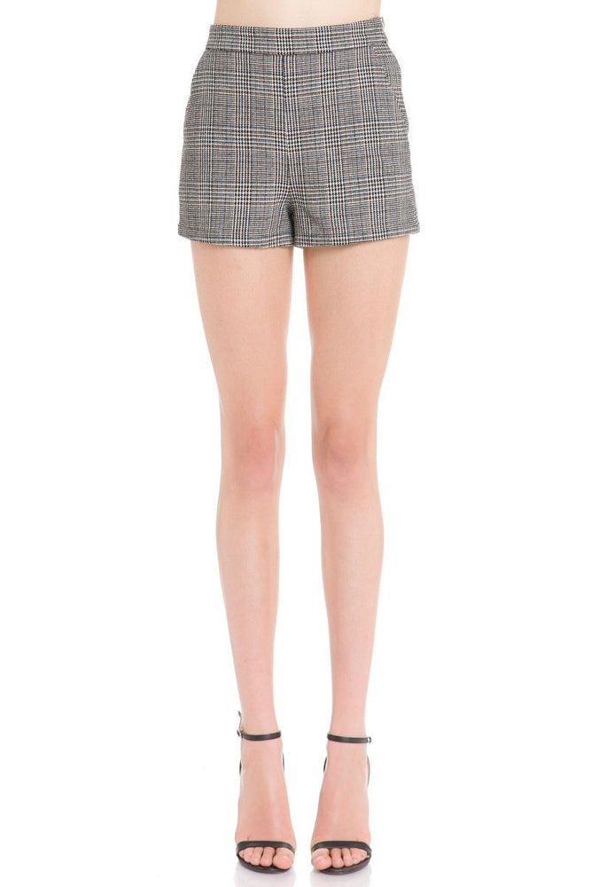 CLOTHING - Plaid Shorts