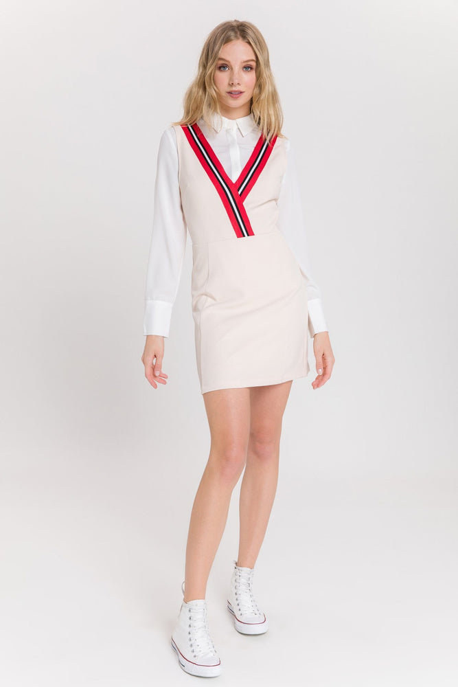 CLOTHING - Varsity Stripe Dress