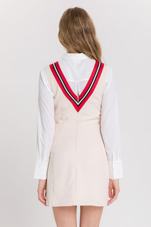 Load image into Gallery viewer, Varsity Stripe Dress