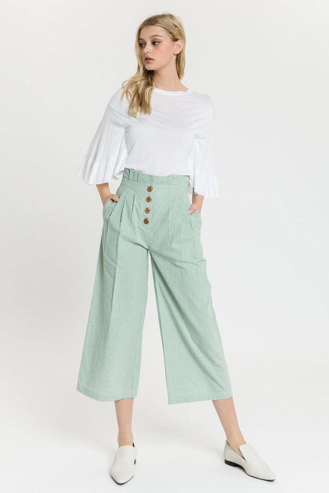 Pleated Easy Trousers