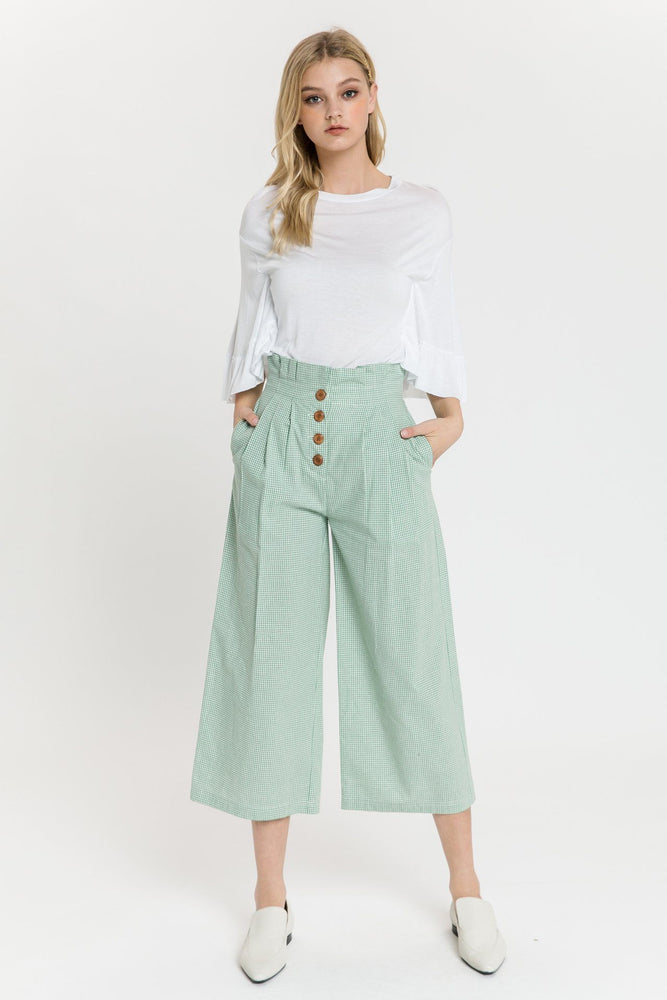 CLOTHING - Pleated Easy Trousers