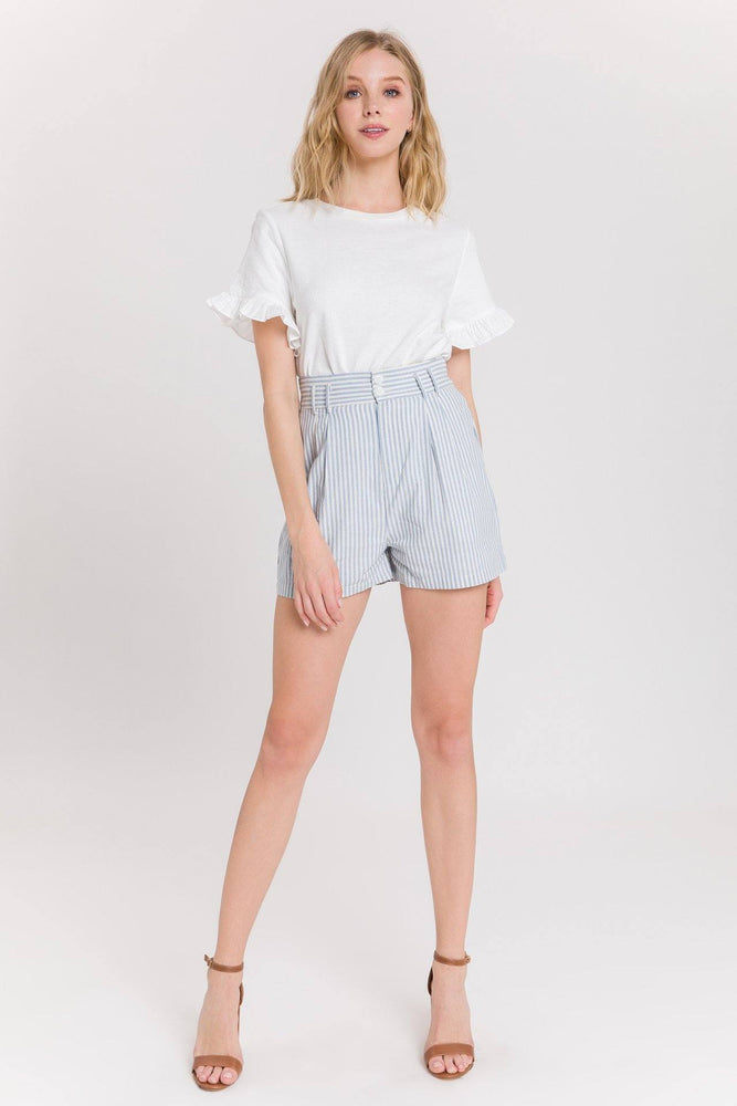 CLOTHING - Striped Bermuda Shorts