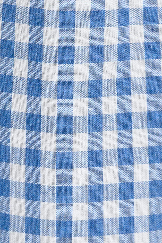 Gingham Pleated Cullotes