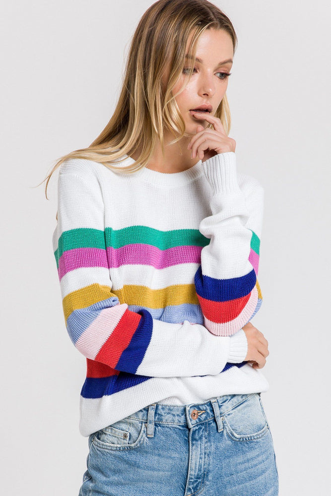 Muilt Striped Sweater