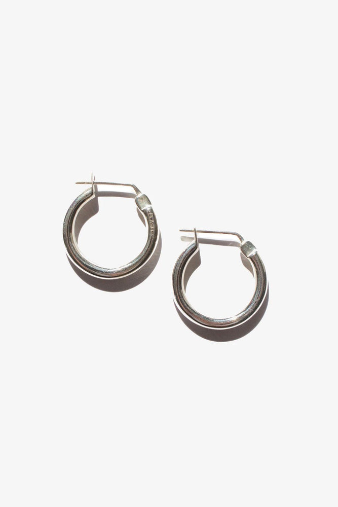 Mini Doozie Hoops - Sterling Silver