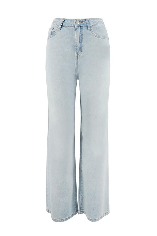 Load image into Gallery viewer, High Waist Wide Leg Jeans