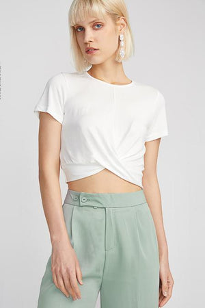 Twisted Short sleeve Top