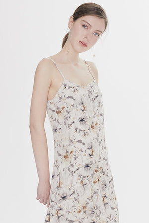 Load image into Gallery viewer, Tie-dye Cami Midi Dress