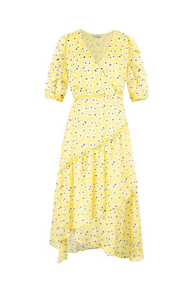 Pushkin Floral Print Maxi Dress
