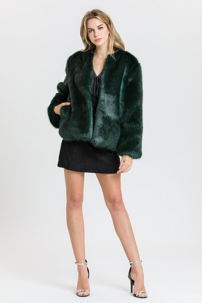NEW IN - FAUX FUR JACKET