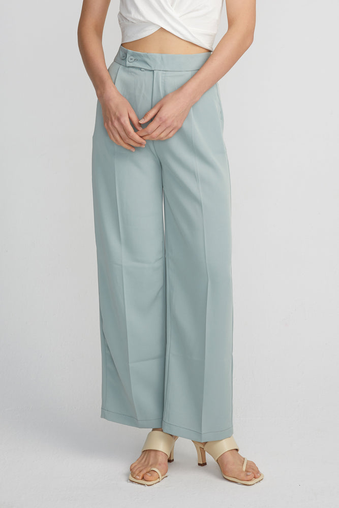 Load image into Gallery viewer, Wide leg Trousers