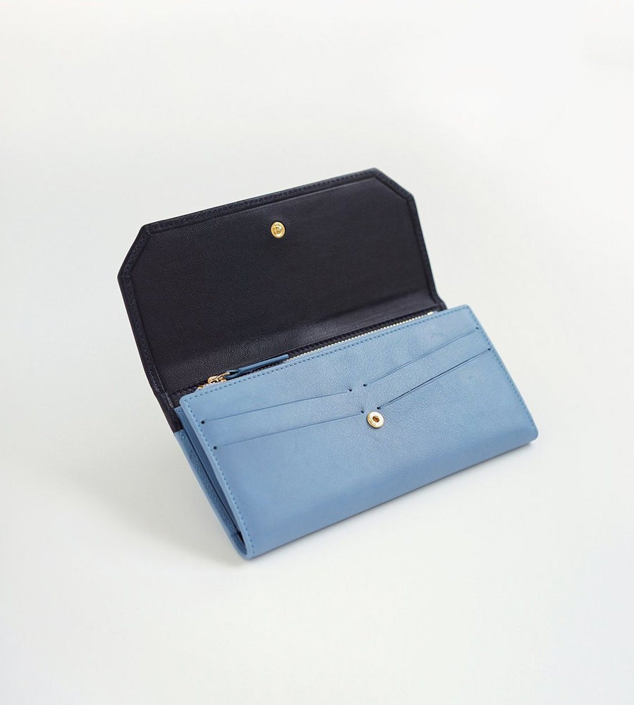 ACCESSORIES - Envelope - Navy/Sky Blue