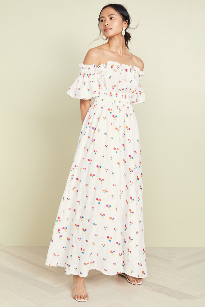 Nana Printed Maxi Dress