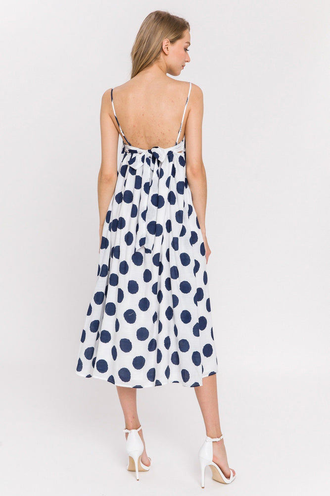 CLOTHING - Dot Midi Dress