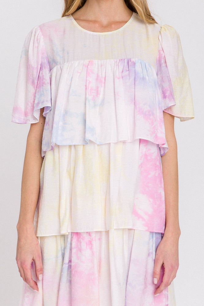 CLOTHING - Tie-Dye Mini Dress