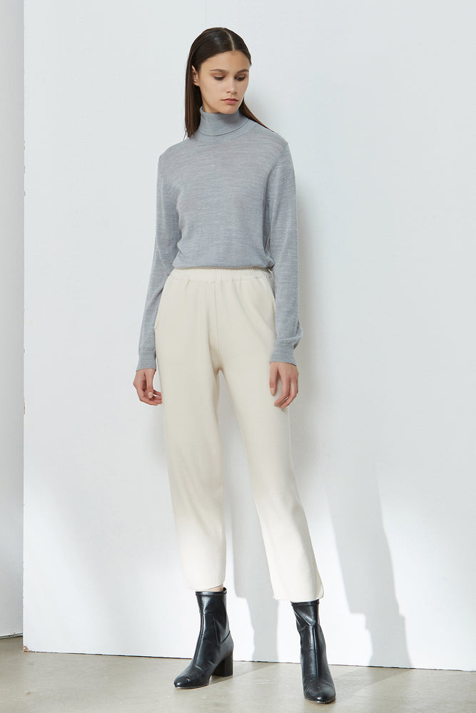 Off-White Elasticated-Waist Carrot Trousers