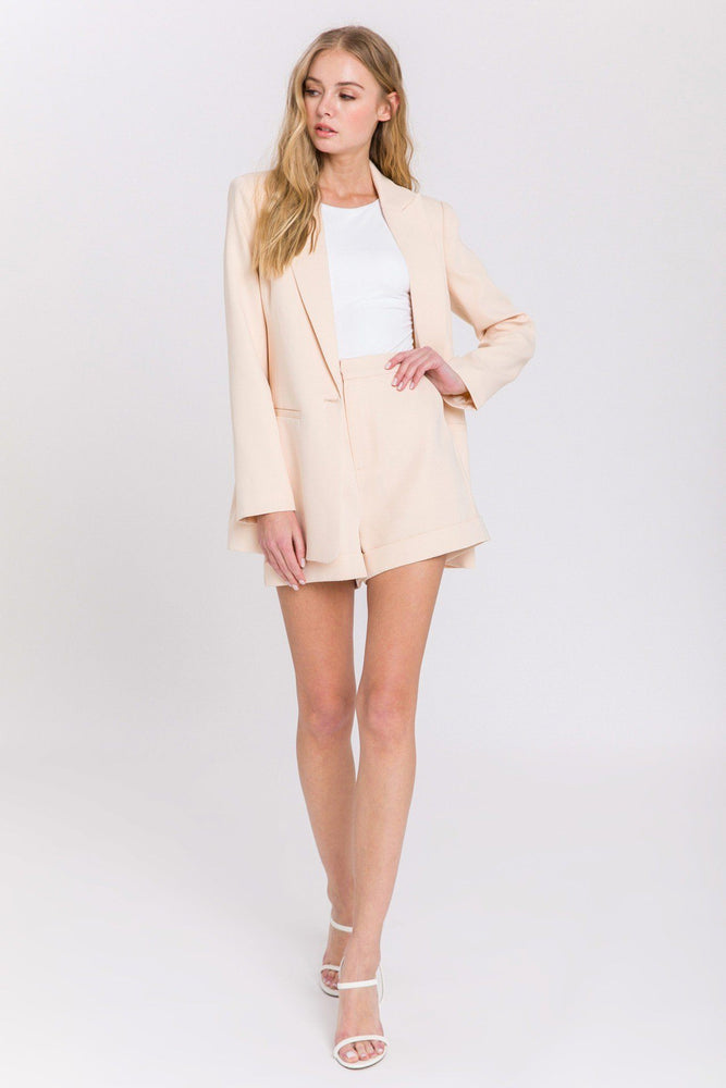 CLOTHING - Single Breasted Blazer - IVORY