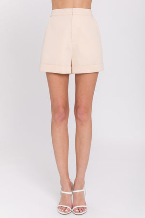 Load image into Gallery viewer, Tailored Basic Shorts - IVORY