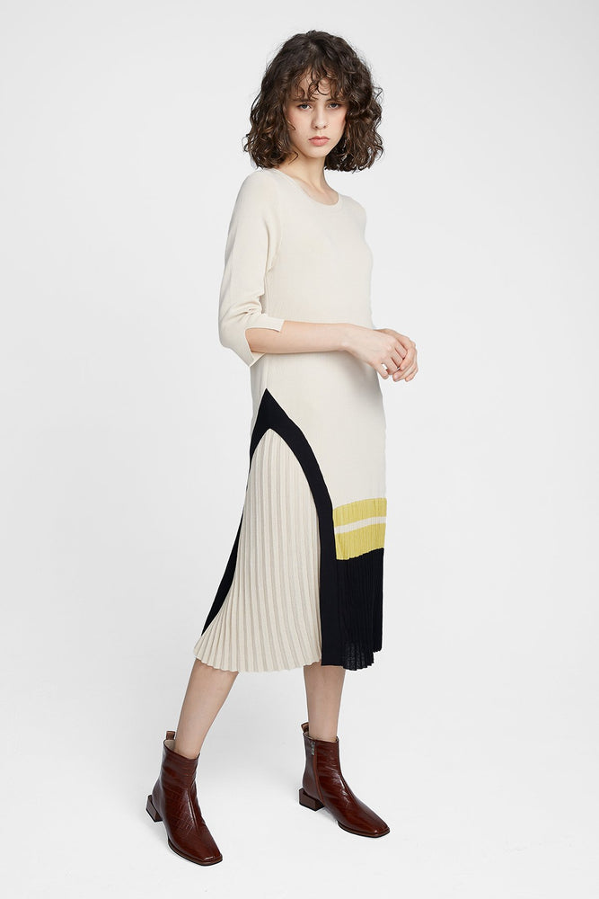 Knitwear Pleat Dress