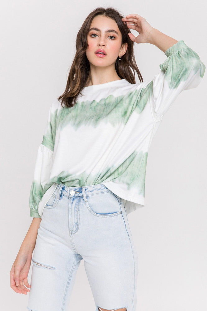 Load image into Gallery viewer, Tie Dye Knit Top
