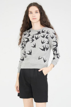 Load image into Gallery viewer, Swallow Printed Top