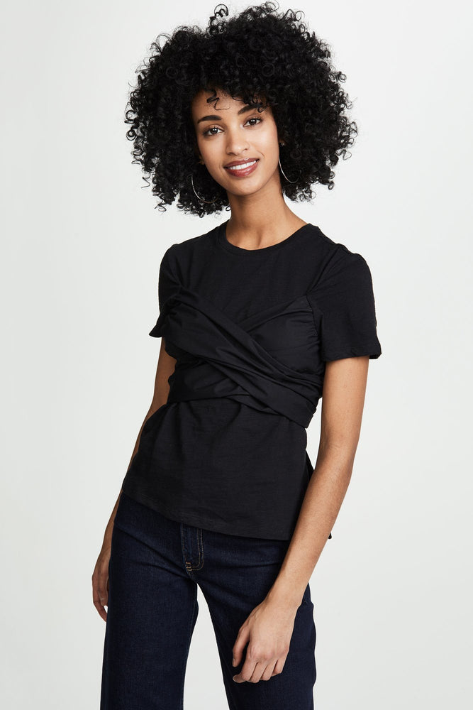 Load image into Gallery viewer, Contrast Bandeau T-Shirt